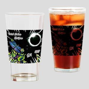 Dragonfly Eclipse_GA Drinking Glass