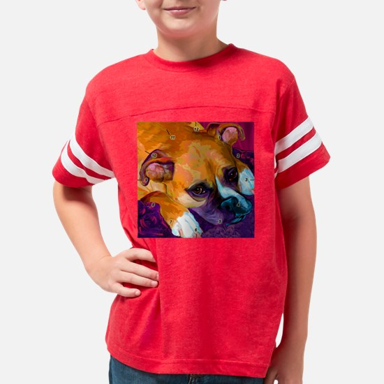 yogi_clock Youth Football Shirt