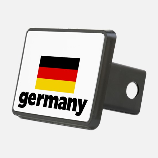 I HEART GERMANY FLAG Hitch Cover