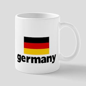 I HEART GERMANY FLAG Mug