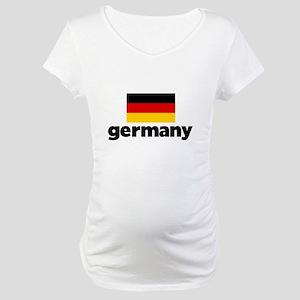 I HEART GERMANY FLAG Maternity T-Shirt