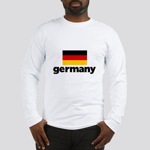 I HEART GERMANY FLAG Long Sleeve T-Shirt