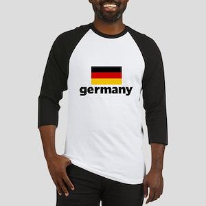 I HEART GERMANY FLAG Baseball Jersey