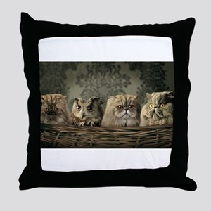 Cute Odd One Out Throw Pillow