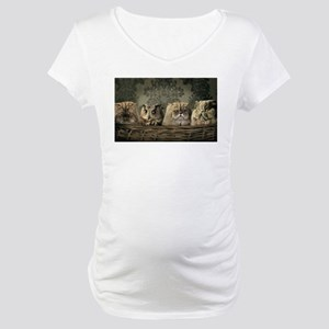Cute Odd One Out Maternity T-Shirt