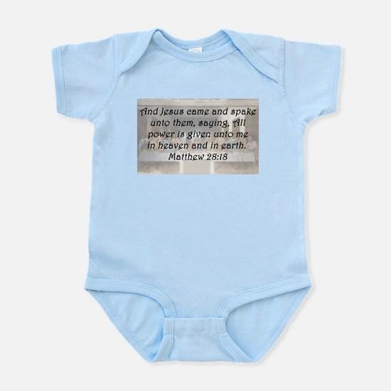 Matthew 28:18 Body Suit