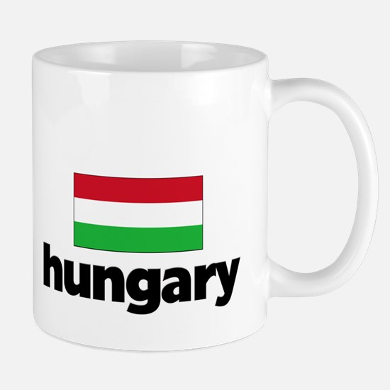 I HEART HUNGARY FLAG Mug