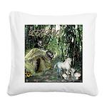 Legend Square Canvas Pillow