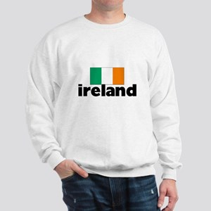 I HEART IRELAND FLAG Sweatshirt