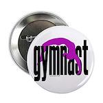 Gymnastics Button - Gymnast