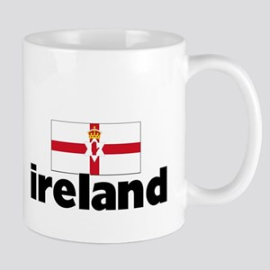 I HEART IRELAND FLAG Mug