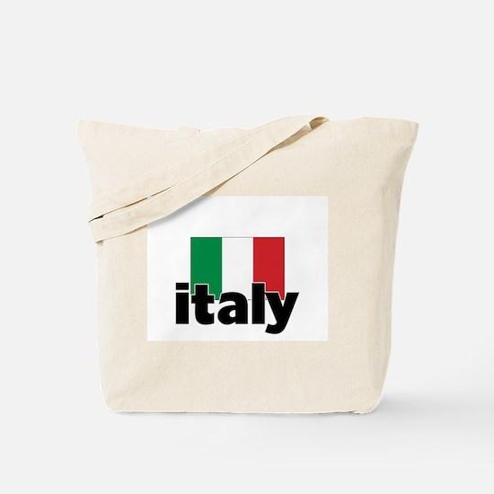 I HEART ITALY FLAG Tote Bag