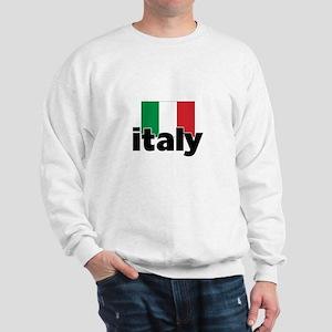 I HEART ITALY FLAG Sweatshirt