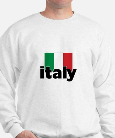 I HEART ITALY FLAG Sweatshirt