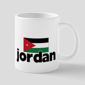 I HEART JORDAN FLAG Mug