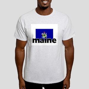 I HEART MAINE FLAG T-Shirt