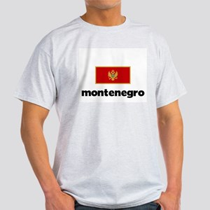 I HEART MONTENEGRO FLAG T-Shirt