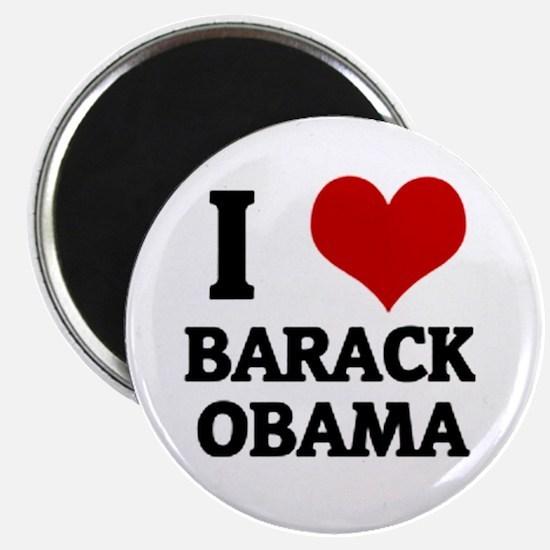 """I Love Barack Obama 2.25"""" Magnet (100 pack)"""