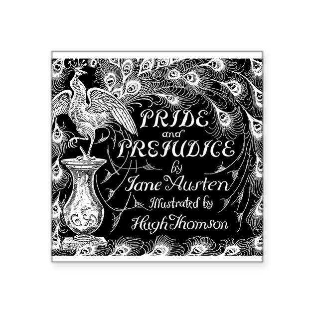 pride amp prejudice jane austen peacock book cover b by