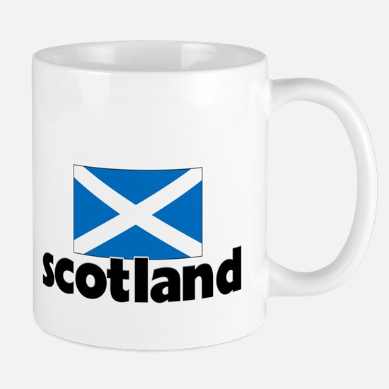 I HEART SCOTLAND FLAG Mug