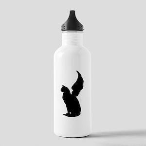 Angel Cat Water Bottle