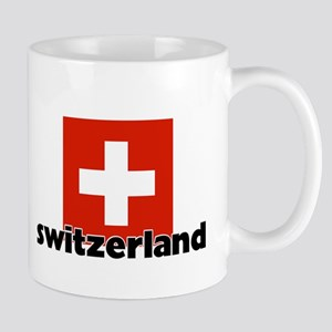 I HEART SWITZERLAND FLAG Mug