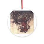 Rackham's Santa Claus (round) Round Ornament