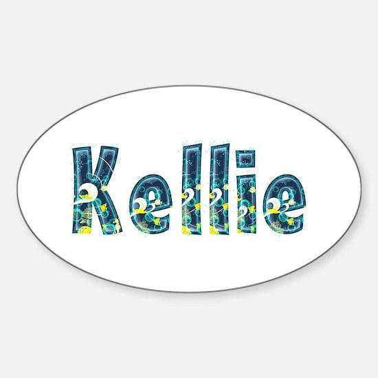 Kellie Under Sea Oval Decal