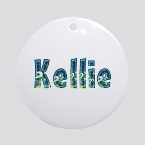 Kellie Under Sea Round Ornament