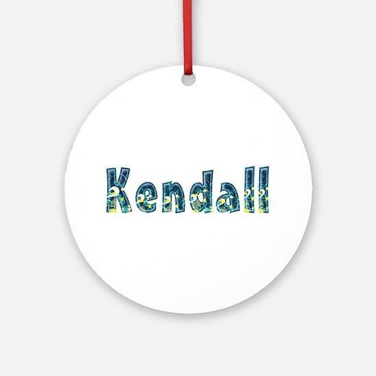 Kendall Under Sea Round Ornament