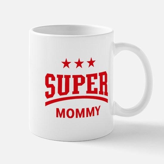 Super Mommy (Red) Mug