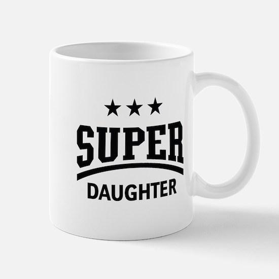 Super Daughter (Black) Mug