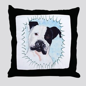 Pitbull Throw Pillow