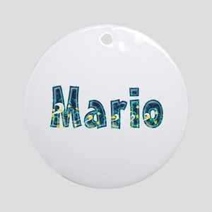 Mario Under Sea Round Ornament