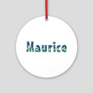 Maurice Under Sea Round Ornament