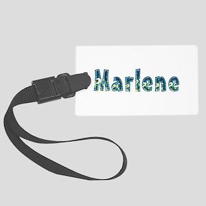 Marlene Under Sea Large Luggage Tag