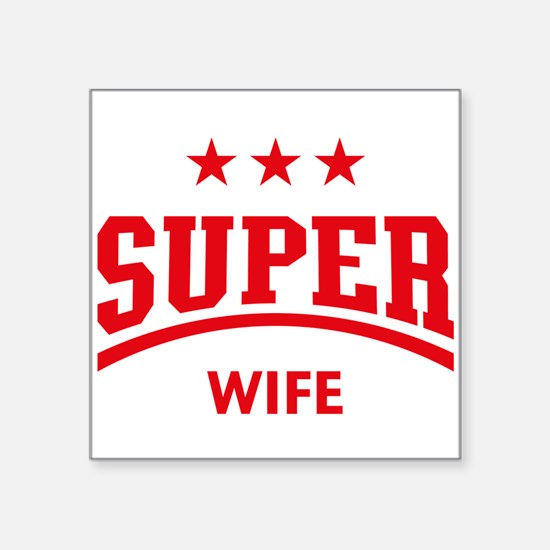 Super Wife (Red) Sticker
