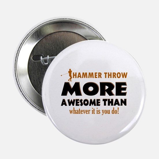 "Hammer Throw designs 2.25"" Button"