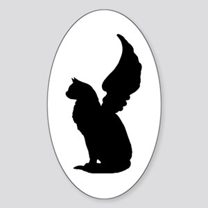 Angel Cat Sticker