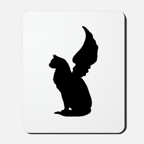 Angel Cat Mousepad