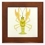 Ozark Spotted Crayfish Framed Tile