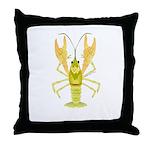 Ozark Spotted Crayfish Throw Pillow