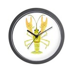 Ozark Spotted Crayfish Wall Clock