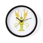 Ozark Spotted Crayfish Wall Clock