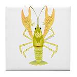 Ozark Spotted Crayfish Tile Coaster