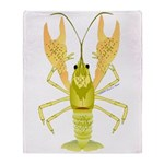 Ozark Spotted Crayfish Throw Blanket