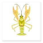 Ozark Spotted Crayfish Square Car Magnet 3