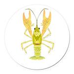 Ozark Spotted Crayfish Round Car Magnet