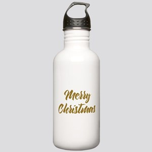 Merry Christmas Modern Stainless Water Bottle 1.0L