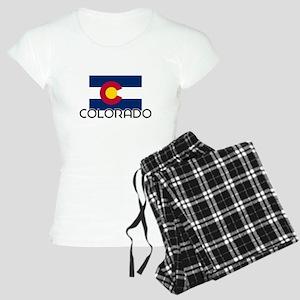 I HEART COLORADO FLAG Pajamas
